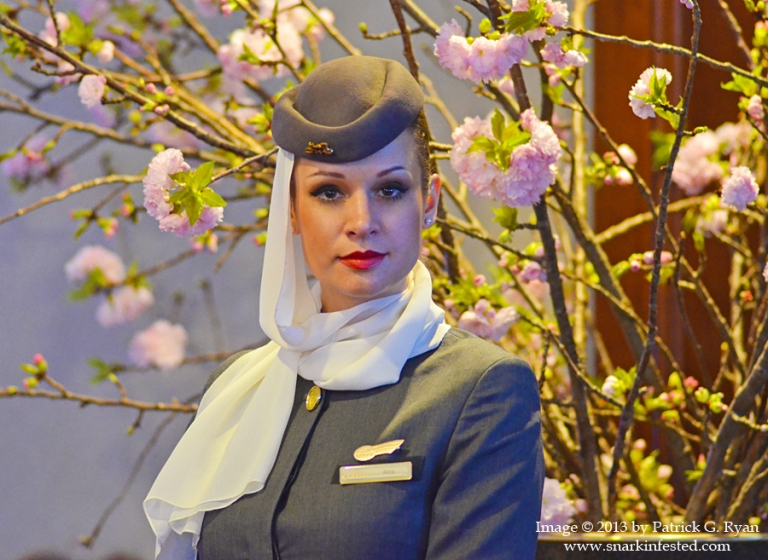 Etihad Stewardess *2804