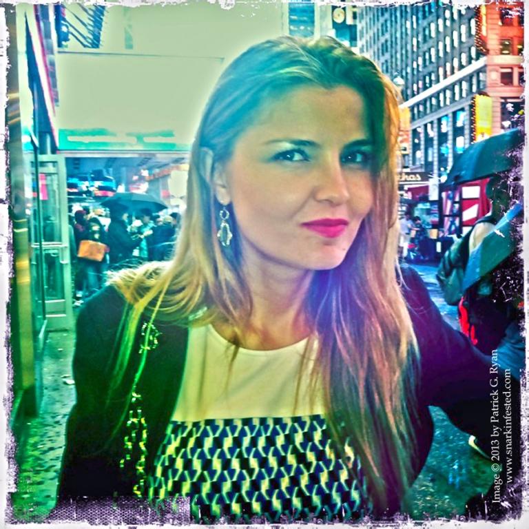 Sarah Times Square* 052313