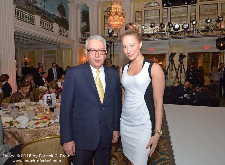 Ambassador Serdar Kilic & Amelia Wolf *1495